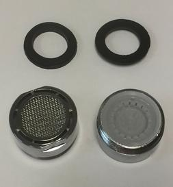 2 sets Replaceable Kitchen Faucet Aerator Flow Retrictor, Ul
