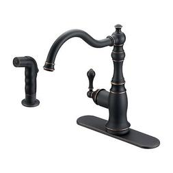 Designers Impressions 650234 Oil Rubbed Bronze Single Handle
