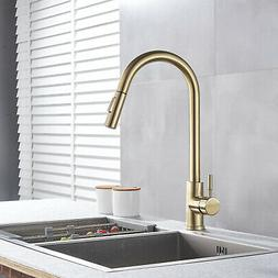 Brushed Nickel Commercial Pre-Rinse Kitchen Sink Faucets Tal
