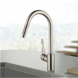 Hansgrohe Cento Kitchen Faucet in Steel Optik