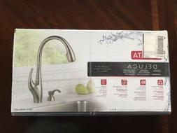 Delta Deluca 19912-SSSD-DST Stainless Steel Kitchen Faucet W