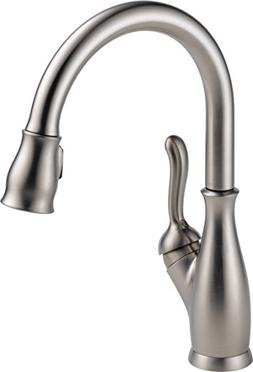 Delta Faucet 9178-SP-DST Leland single Handle Pull-Down Kitc
