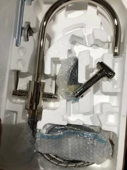 rohl faucet kitchen sink mixer spout with rinse