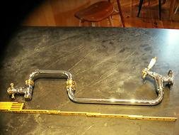 Franke kitchen faucet pot filler model PF2009 chrome/gold ti