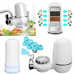 Kitchen Tap Faucets Water Filter Mount Water Purifier+Washab