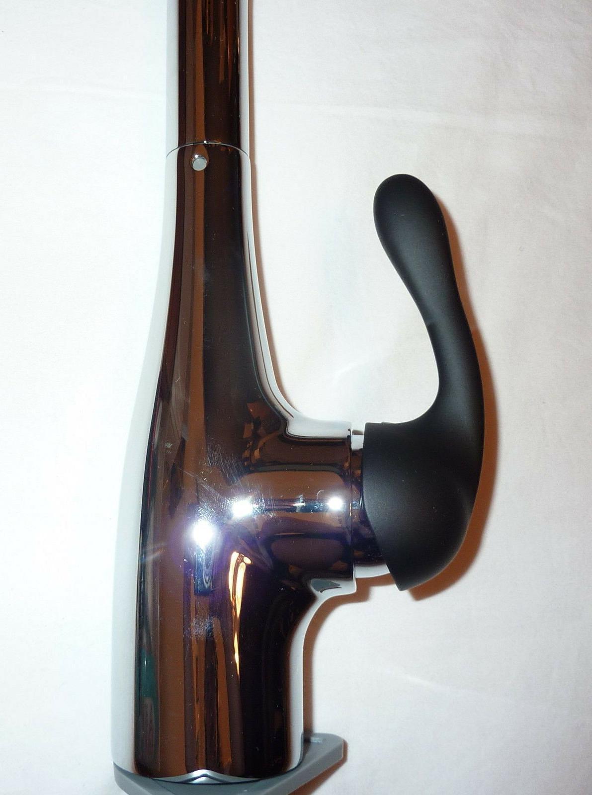 Hansgrohe 06460060 Allegro Kitchen Faucet CHROME BLACK