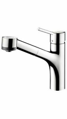 Hansgrohe 06462000 Talis S  Single Hole 2-Spray Pull-Out Kit