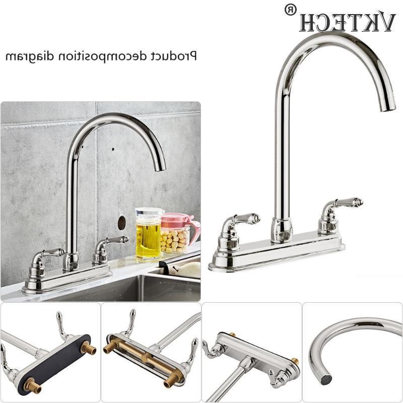 2-handle <font><b>Kitchen</b></font> <font><b>Steel</b></font> <font><b>Kitchen</b></font> Fixed Dual Sink Water Sink