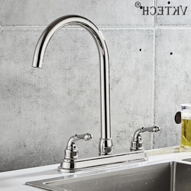 2-handle <font><b>Faucet</b></font> <font><b>Steel</b></font> Dual Home Water Tap <font><b>Kitchen</b></font> Sink