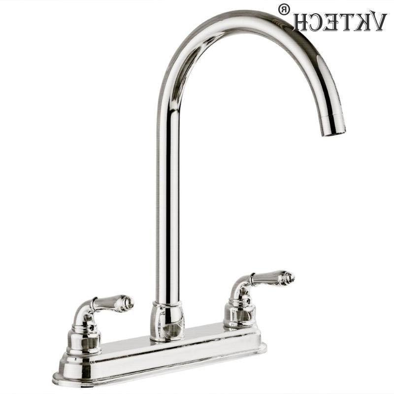 2-handle <font><b>Faucet</b></font> <font><b>Steel</b></font> Dual Home Water Tap Sink