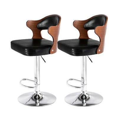 2pcs adjustable bar stools counter height pu