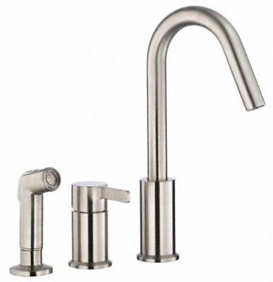 amalfi single handle kitchen faucet