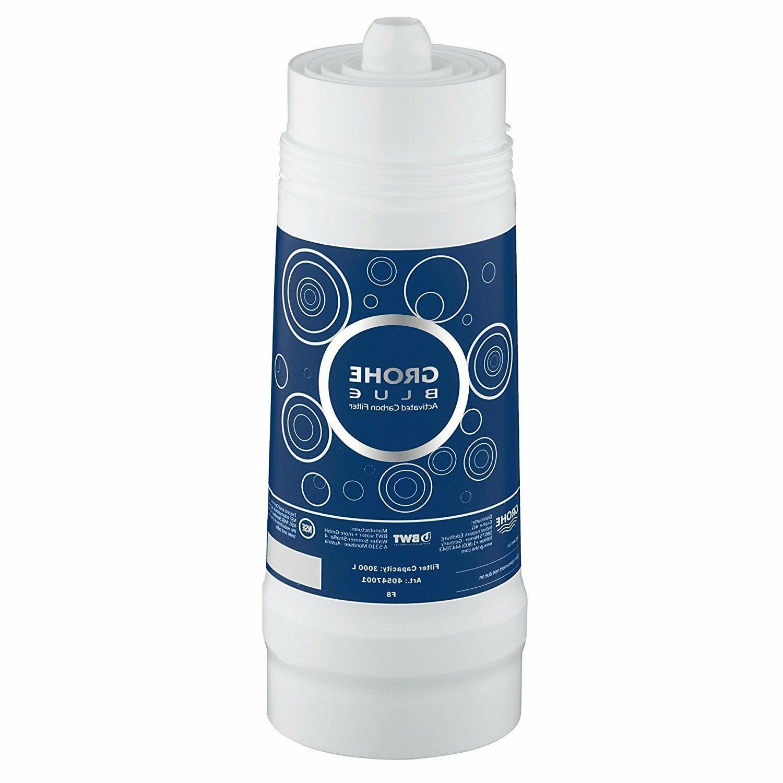 blue kitchen faucet activated carbon filter 3000
