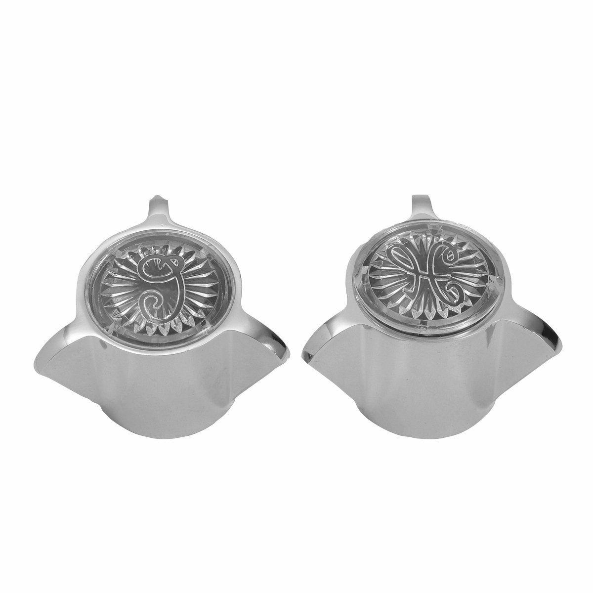 Brasscraft Sh2851 Sayco Faucets Handle Pair For Lavatory And