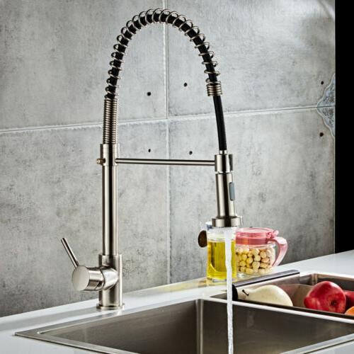 Brushed Kitchen Sink Sprayer Single