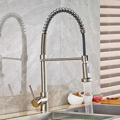 Kitchen Single Handle Sprayer Brushed Nickel