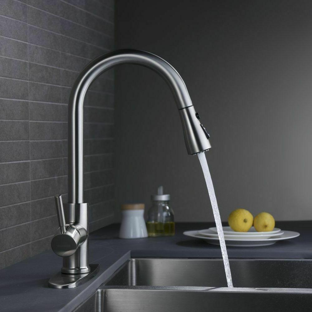 WEWE Nickel Faucet Pull Cover