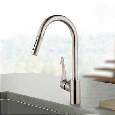 cento kitchen faucet in steel optik no