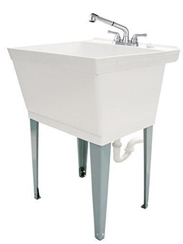 complete laundry utility tub set