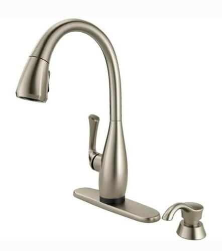 Delta Stainless Faucet Touch On/Off