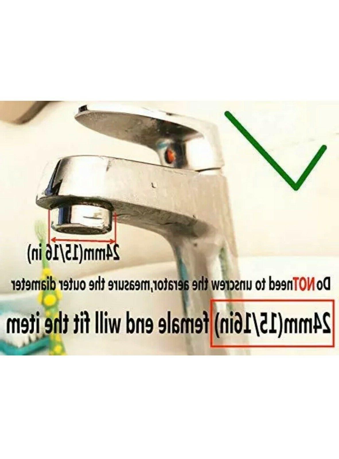 Faucet Diverter Adapter Kitchen Sink RO M22X24M