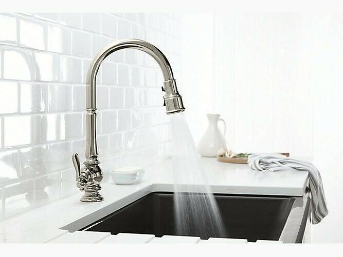 KOHLER K-99259-CP Artifacts Kitchen Sink Polished Chrome
