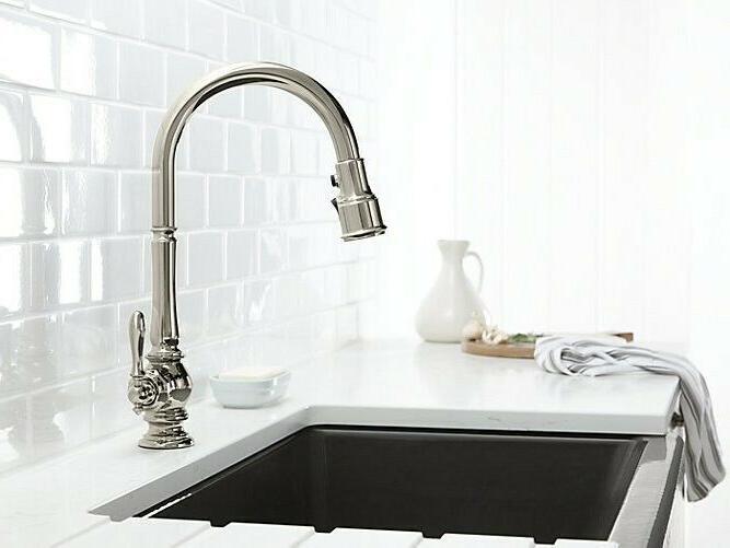 KOHLER Kitchen Faucet, Chrome