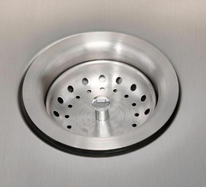 Kitchen 33 18 Gauge In Stainless Steel Single 4 Hole