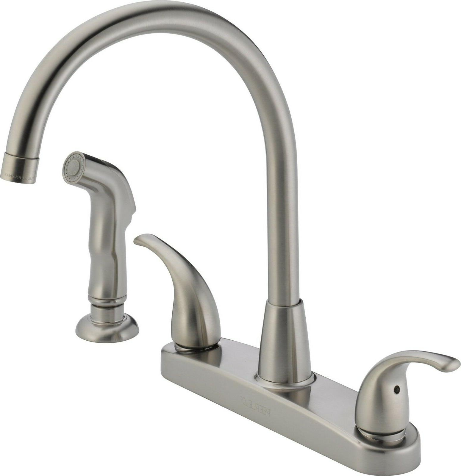 Kitchen Sink Faucet Side Nickel Two 4