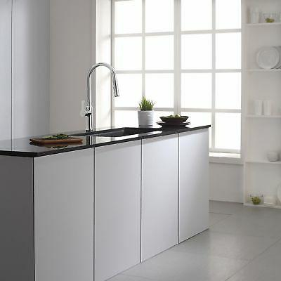 Kraus Nola Lever Kitchen Faucet, Stainless