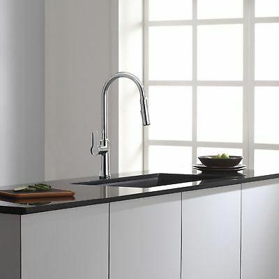 Kraus Nola Lever Pull-Down Spray Kitchen Faucet,