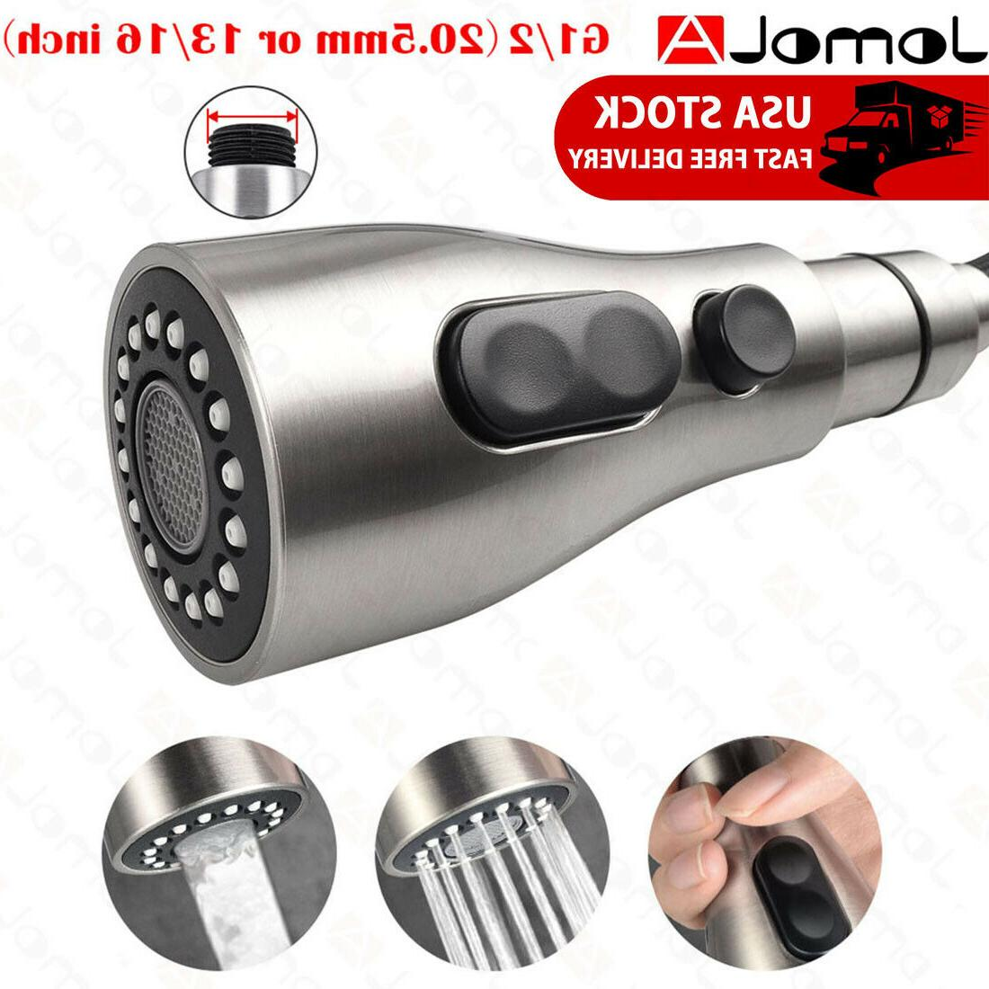 pull down faucet sprayer kitchen faucet head