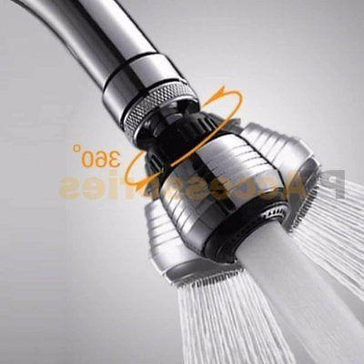 360° Swivel Nozzle Filter Water Saving Aerator Faucet Kitchen