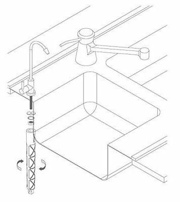 RO Kitchen Lead-Free+Faucet Wrench