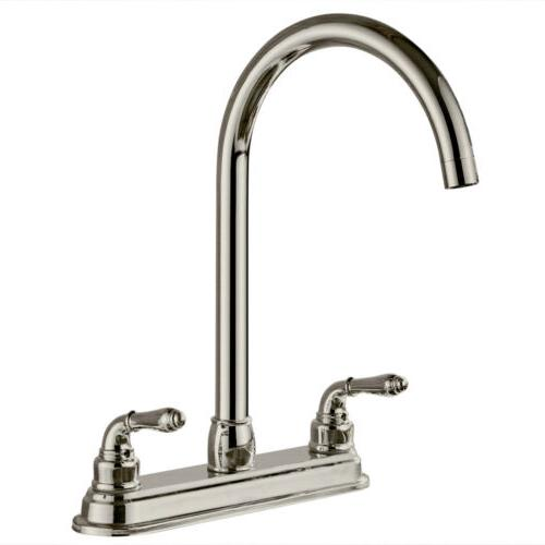 kitchen faucet 2 handle with matching side