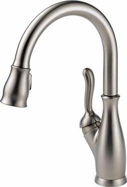 Delta Faucet Leland Single-Handle Kitchen Sink Faucet with P