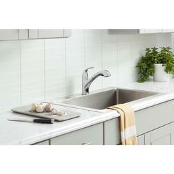 Glacier Bay Market Single-Handle Pull-Out Sprayer Kitchen Fa
