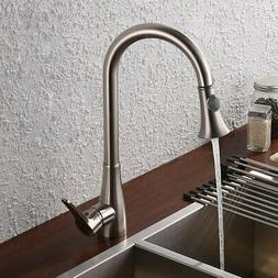 Pull Down Kitchen Tap Large Tall Commercial Pullout Bar Sink