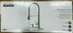 Kohler R22745-SD-VS Semiprofessional Kitchen Faucet with Soa