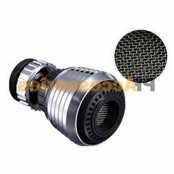 360° Rotate Swivel Faucet Nozzle Filter Water Saving Aerato