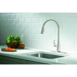Simplice Single Hole Pull-Down Kitchen Faucet - Finish: Vibr