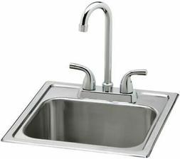 Elkay sinkset Bar Sink HD320874LFR top mount bar sink w/ LK2
