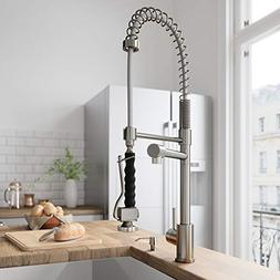 Vigo Stainless Steel Pullout Spray Kitchen Faucet